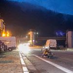 Ortsdurchfahrt Hirschhorn in der Nacht !