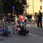 Renata Kaluza im Straßenrennen