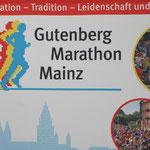 Wie immer gut organisiert: Der Gutenberg Marathon in Mainz