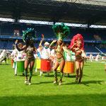 Heiße Samba Tänzerinnen