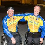 Tobi und Manfred nach der letzten gemeinsamen Runde !!