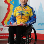 Torsten Purschke bei der Siegerehrung