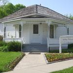 Das Geburtshaus von John Wayne in Winterset, IA