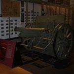 Echte österreich-ungarische Feldkanone