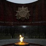 Kriegerdenkmal im Awtosawodskij rajon.