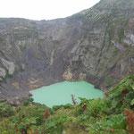 Krater des Irazú (3.432 m)