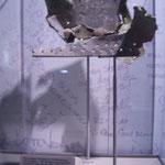 Fragmente eines Flugzeugs von 9/11