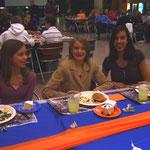 Cross-Country-Abschluss-Bankett (Natalie, Emily, Monica)