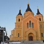 Die Aleksandr-Newskij-Kathedrale mit der drittgrößten Glocke Russlands.