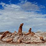 Las Tres Marías – Salzformation im Valle de la Luna