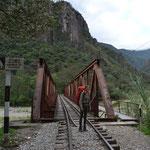 Zu Fuß das letzte Stück nach Machu Picchu.
