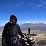 Wanderung auf >5.000 m.