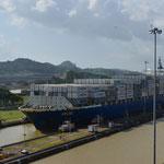 Erstes Déjà-vu-Erlebnis: Der Panamakanal.