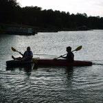 Gastschwester und -bruder am Lake