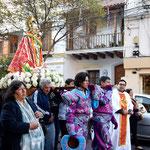 Prozession zu Ehren der Virgen de Copacabana.