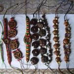 Kunsthandwerk von Maritza – die Materialien sammelt sie im Wald
