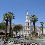 Kathedrale in Arequipa.