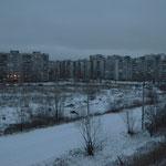 Ein eiskalter Novembermorgen im Kanáwinskij rajon.