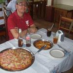 Pizza bei den Italienern von San Vito