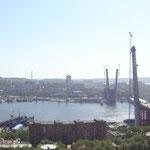 Blick auf Wladiwostok