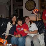 Austauschschüler-Party bei Kathrin (rechts)