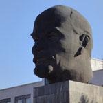 """Der """"größte Lenin-Kopf der Welt"""" in Ulan-Ude^^"""