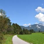 Radweg bei Admont
