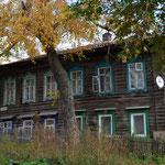 Holzhaus in Ischewsk.