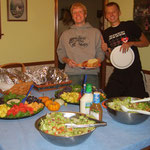 Grant, Matt und das letzte Spaghetti-Dinner
