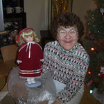 This is what happy looks like (Aunt Shirley mit Puppe)