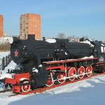 """Das """"T"""" steht für """"Trofejnaja"""". Es handelt sich um eine von der Deutschen Reichsbahn erbeutete und umgespurte Dampflok der Baureihe 52."""