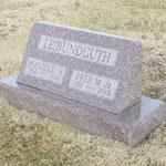 Hier ruht Familie Leibundguth.