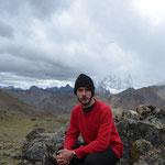 Selfie auf 4.850 m.