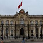 Präsidentenpalast.