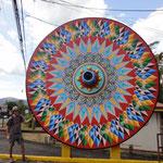 Das Wagenrad, ein wichtiges Symbol für Costa Rica
