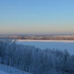 Winterliche Wolga.