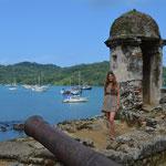 In Portobelo an der Karibikküste.