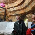 Onkel Reinhard und Tante Nelli im Labyrinth des Tunnelbauers