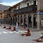 Zurück in Cusco.