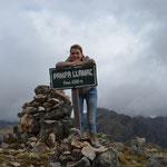 In der Cordillera Huayhuash.