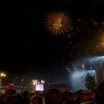 Großes Feuerwerk und Konzert anlässlich des den góroda.