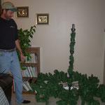 Dad & Weihnachtsbaum