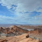 Das Valle de la Luna in der Atacama