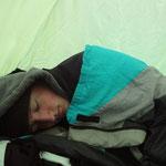 Zelten bei 0°