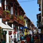 Die Altstadt von Cartagena.