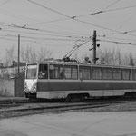 Der 5er von Dserschinsk, die vielleicht kaputteste Straßenbahn der Welt.