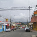 Straße in Cartago