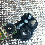 456GT-パワーシートモーター分解