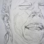 Portrait in Vorzeichnung