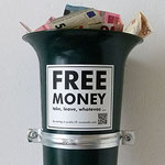 Free money box, Köln 2017
